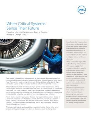 Van levensbelang: kritieke systemen toekomstbestendig maken