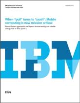 """Mobile Computing: van """"leuk om te hebben"""" naar bedrijfskritisch"""