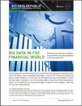 Het Belang van Big Data voor de Financiële wereld uitgelegd