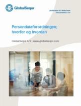 Persondataforordningen; hvorfor og hvordan
