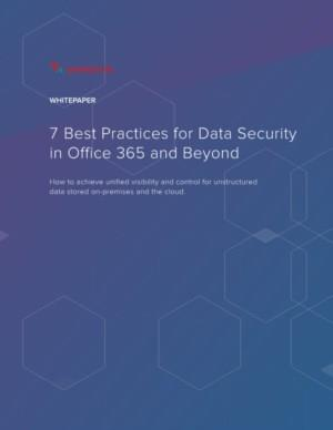 7 Best Practices for Data Security in Office 365