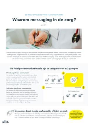 Waarom messaging in de zorg