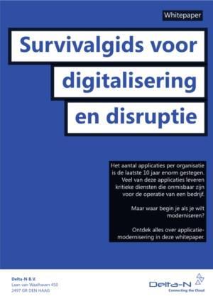 De survivalgids voor digitalisering en disruptie