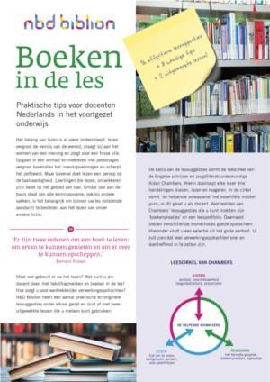 Boeken in de les - Tips voor docenten uit het voortgezet onderwijs