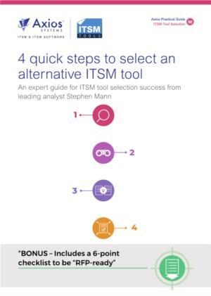 In 4 snelle stappen uw nieuwe ITSM tool kiezen