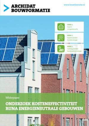 Onderzoek kosteneffectiviteit Bijna Energieneutrale Gebouwen