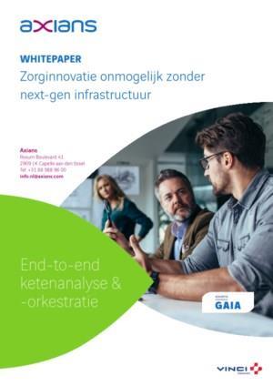 Digitalisering van zorg vraagt om nieuwe visie op infrastructuur