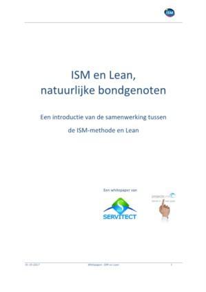 ISM en Lean, Natuurlijke bondgenoten