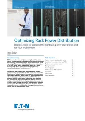 Optimaliseer de bescherming en het energiebeheer met Eaton