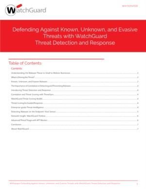 Defending Against Known, Unknown, and Evasive Threats