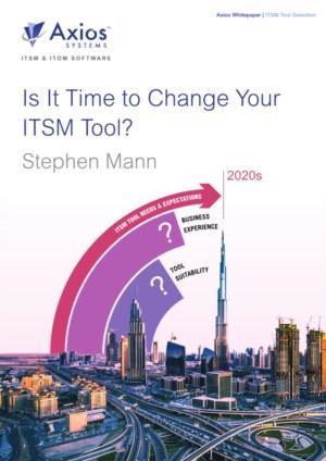 Hoe gedateerd is uw ITSM tool?