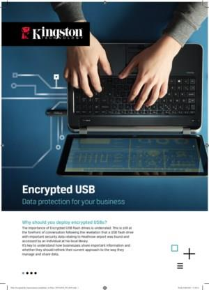Why should you deploy encrypted USBs?