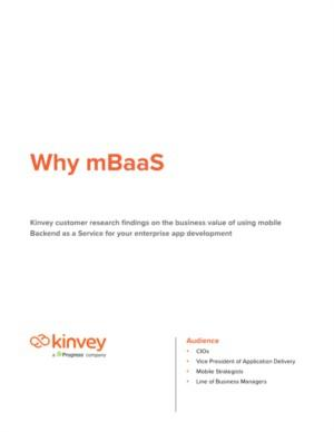 Succesvol mobile app development begint met mobile Backend as a Service (mBaaS)