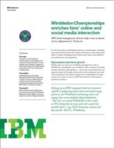 Wimbledon versnelt toepassing van cloud services met 50% dankzij cloud management software