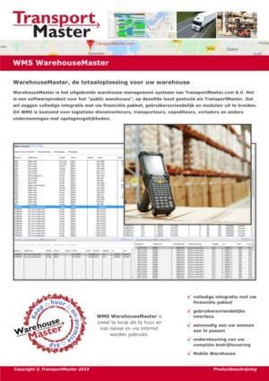 WMS WarehouseMaster