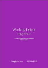 Samenwerking en innovatie zorgen voor fundamentele veranderingen in werkplekken en bedrijven