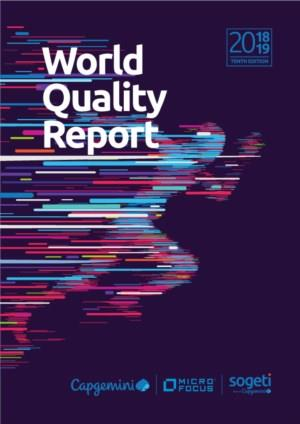 World Quality Report 2018-2019