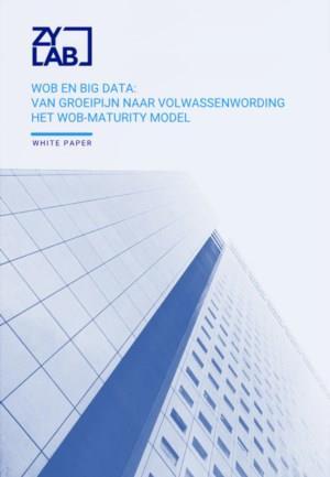Wob en Big Data, van groeipijn naar volwassenwording: het Wob-maturity Model