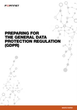 Preparing for the General Data Protection Regulation (GDPR)