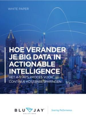 Hoe verander je Big Data in Actionable Intelligence