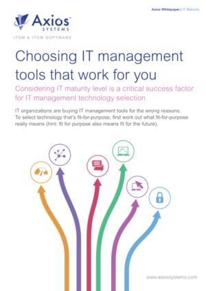 IT Maturity Gids: Kies IT management tools die voor u werken