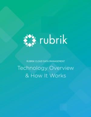 Rubrik Cloud Data Management: Technologieoverzicht & Hoe het werkt