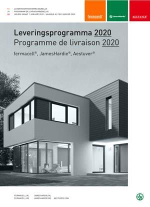 Leveringsprogramma - Programme de livraison fermacell® JamesHardie® Aestuver®