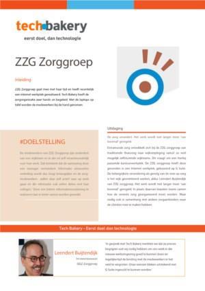 Het optimaliseren van de onderlinge informatie uitwisseling bij ZZG Zorggroep