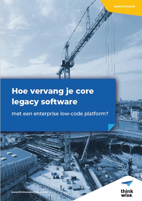 Hoe vervang je core legacy software?