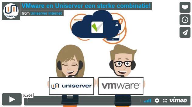 VMware en Uniserver een sterke combinatie!