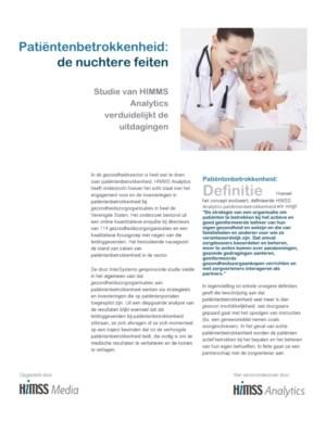 Patiëntenbetrokkenheid: de nuchtere feiten
