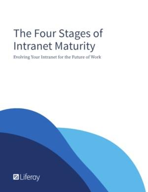 De vier fasen van Intranet volwassenheid
