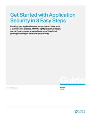In slechts drie stappen naar een optimale applicatie security