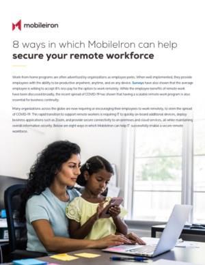 8 manieren waarmee u uw personeel veilig kan laten werken op afstand