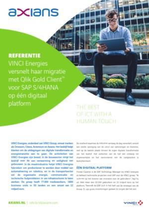 VINCI Energies versnelt haar migratie met Qlik Gold Client™ voor SAP S/4HANA op één digital platform