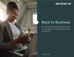 Voor de overheid is veerkracht de sleutel tot de continuïteit van de werkzaamheden na COVID-19