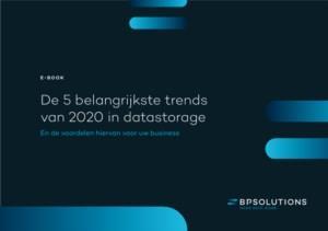 De 5 belangrijkste trends van 2020 in datastorage