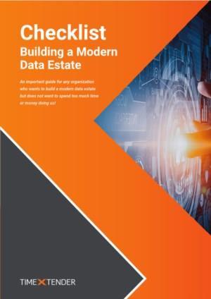 Checklist; Doorgroeien naar een modern data estate in 8 stappen