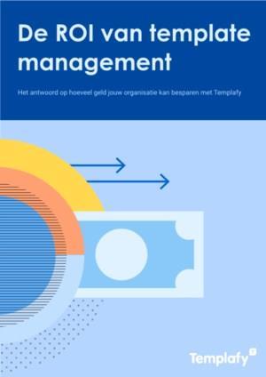 De ROI van template management