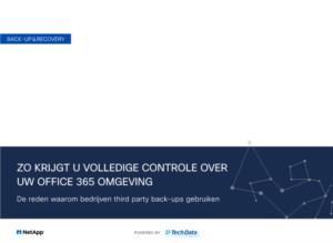 Zo krijgt u volledige controle over uw office 365 omgeving