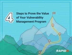 De 4 Stappen om de waarde van uw vulnerability management programma te bewijzen