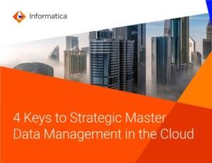 4 Tips voor strategisch masterdatamanagement in de cloud