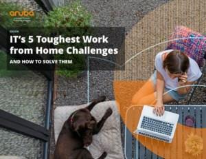 De 5 grootste werk-vanuit-huis uitdagingen voor IT en hoe ze op te lossen
