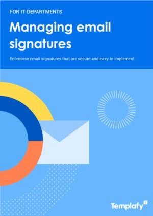 E-mail handtekeningen die veilig en eenvoudig te implementeren zijn