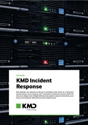 KMD INCIDENT RESPONSE