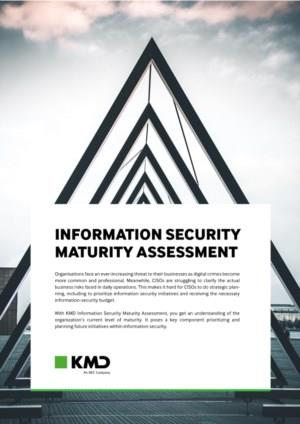 INFORMATION SECURITY MATURITY ASSESSMENT