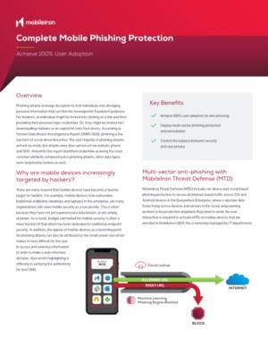 Volledige mobiele phishing-bescherming