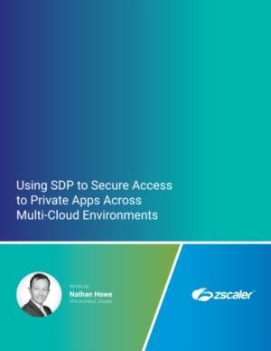 Het gebruiken van SDP om de toegang tot privé-apps in multi-cloudomgevingen te beveiligen
