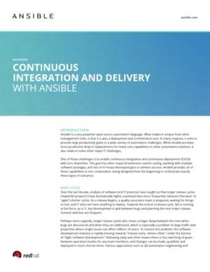 IT-uitdagingen oplossen met open-source platform Ansible