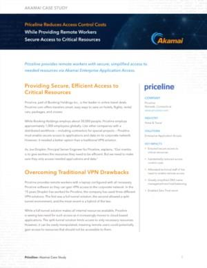 Priceline Reduces Access Control Costs While Providing Remote Workers Secure Access to Critical Resources